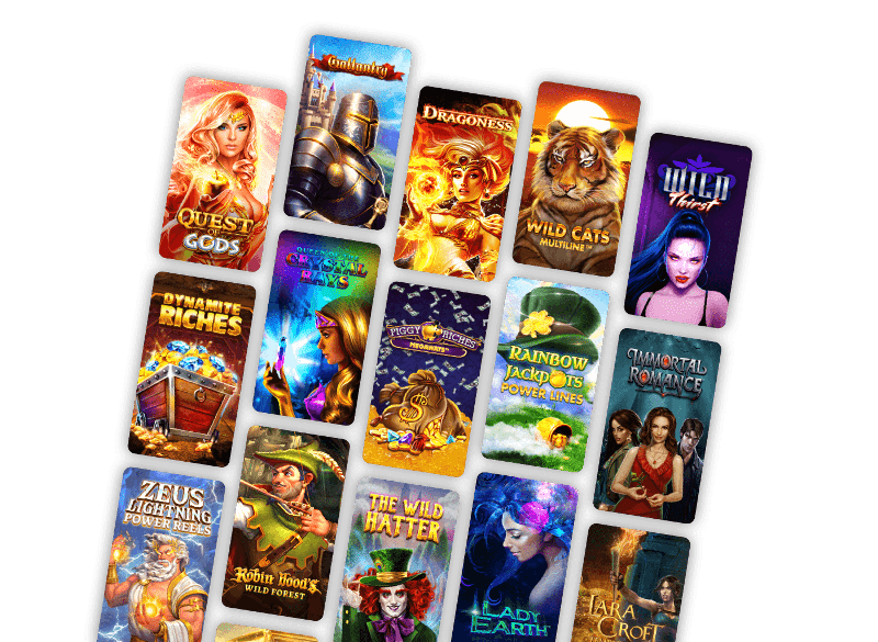 Games in Casino Valley of Trails